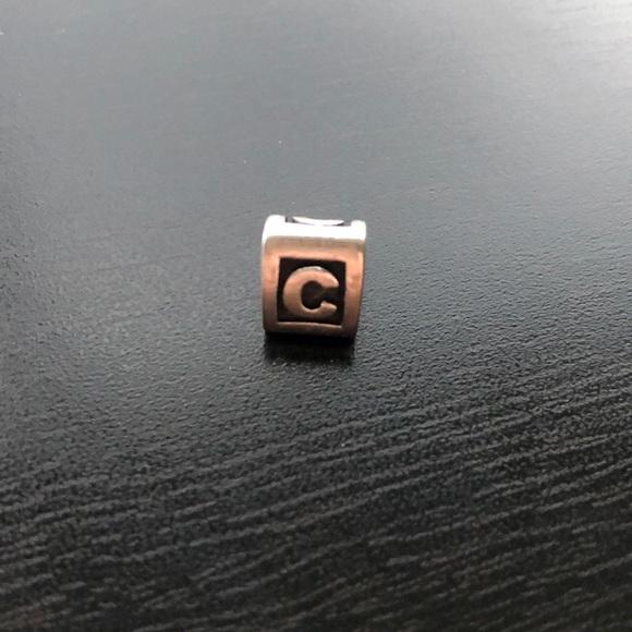 Pandora Letter 'C' Charm